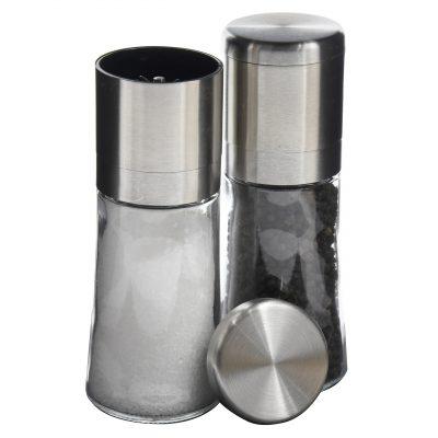 Henan Caja de sal de bamb/ú con tapa contenedores de bamb/ú para especias y salero